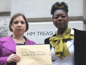 Sarah Teather and Floella Benjamin